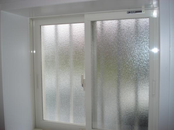 ペアガラスタイプの窓