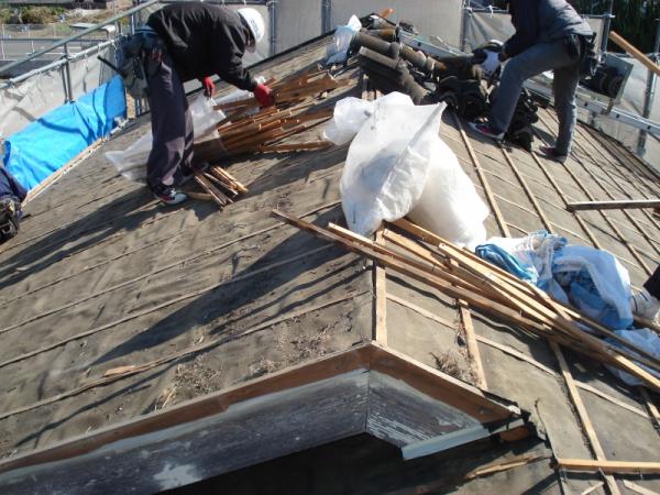 屋根の張替