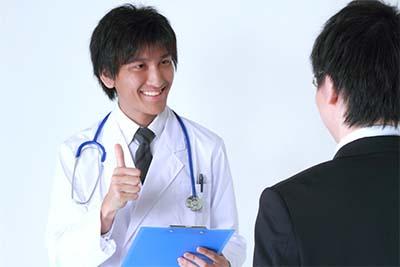 医者のように診断します