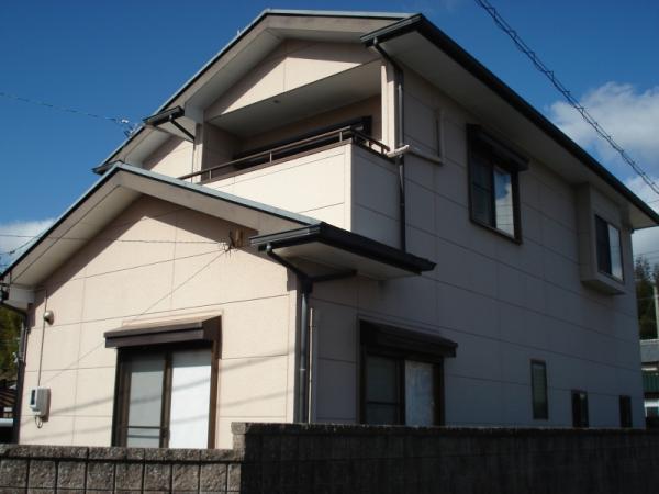 塗装前のお家