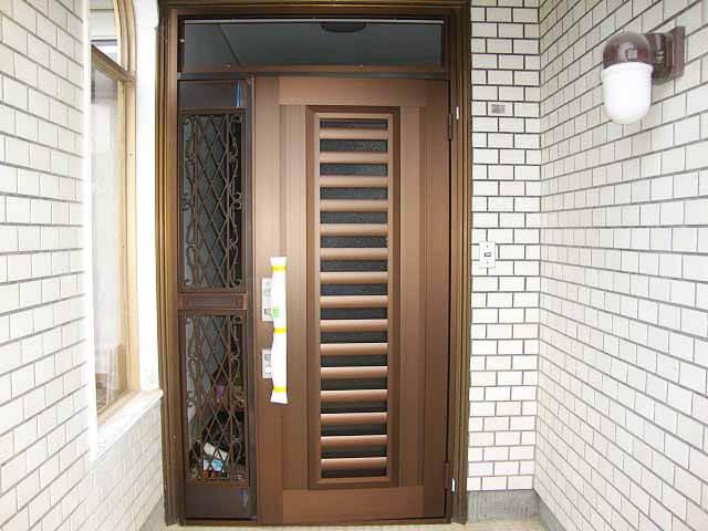 採風性の良いドア