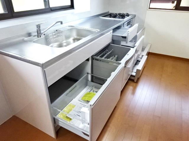 収納力が上がったキッチン