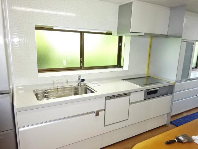 家族構成に合わせて、キッチンの使い勝手を良くする工事 | 愛知県新城市Ⅰ様