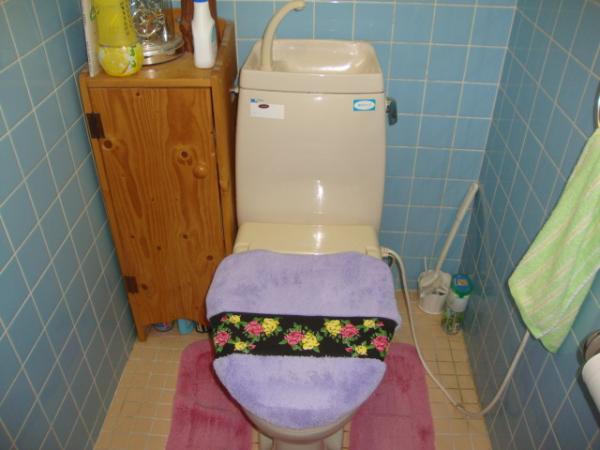 S様邸トイレの施工前の写真