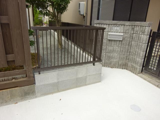 防犯対策のためにフェンスを設置する工事 | 愛知県豊橋市 K様邸