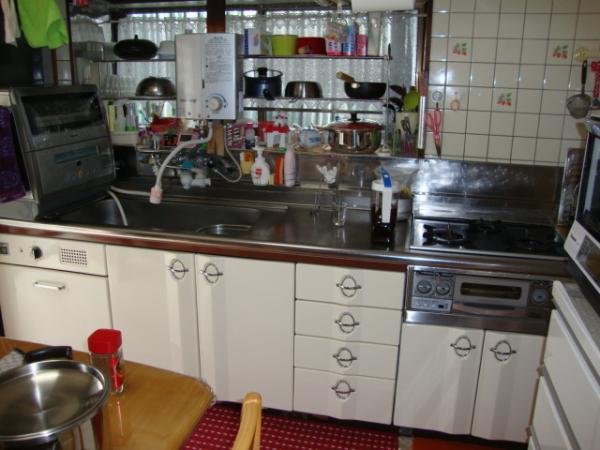 使いづらいI型キッチン