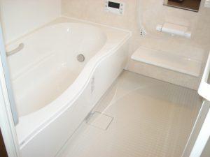 広くなった浴室