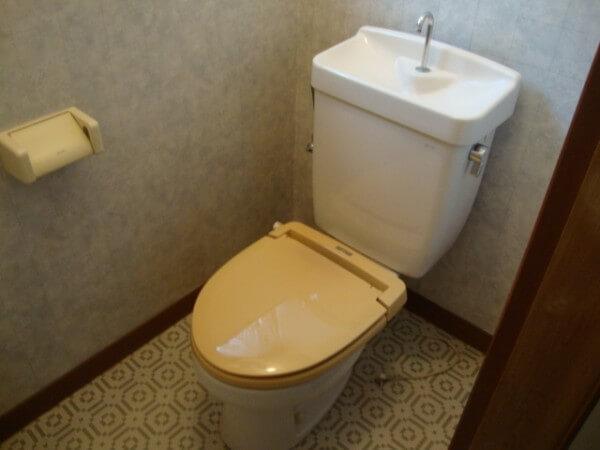 トイレ掃除が大変