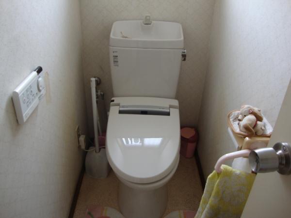 掃除のしにくいトイレ