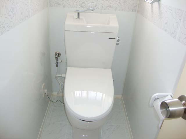 掃除が楽になったトイレ