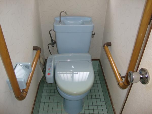 T様邸のトイレ