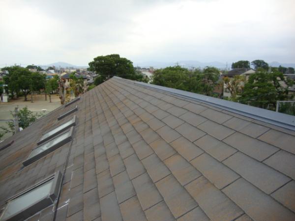雨漏りしていた屋根