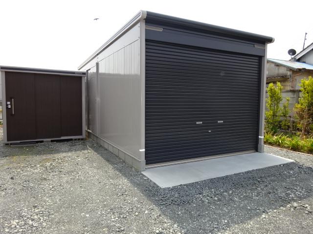 ガレージを建てて愛車を猫のイタズラから守る工事 | 愛知県豊橋市 Y様邸